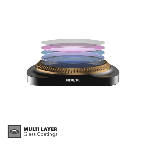Polor Pro lens filter layers