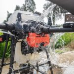 DJI-Agras-T20-Ip67-picture-showing-water-on-it